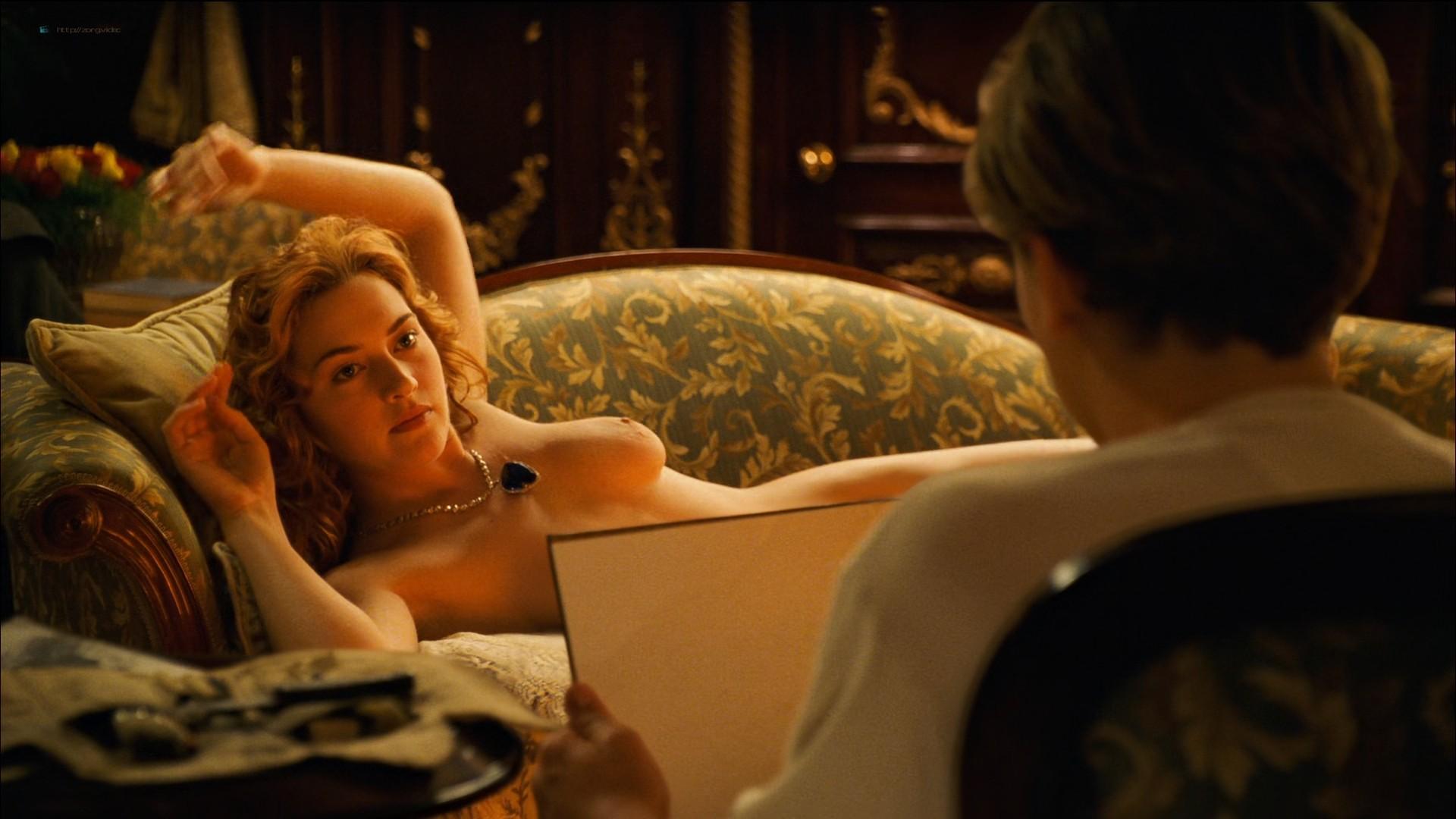 Kate Winslet nude topless - Titanic (1997) HD 1080p BluRay (8)
