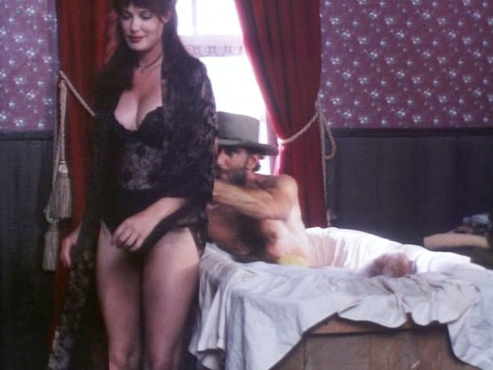 Kelly LeBrock hot Kimberly Kelley and Rochelle Swanson nude - Hard Bounty (1995) (10)