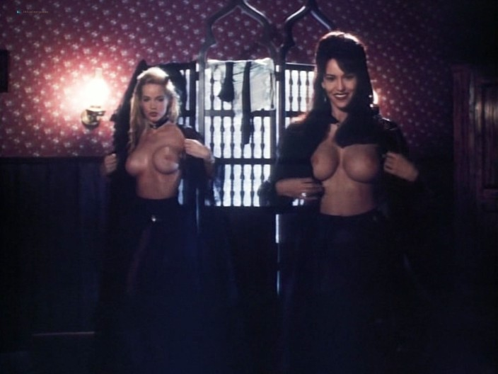 Kelly LeBrock hot Kimberly Kelley and Rochelle Swanson nude - Hard Bounty (1995) (3)