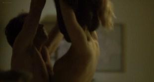 Rachelle Lefevre nude sideboob in sex scene - The Caller (2011) HD 1080p BluRay (9)