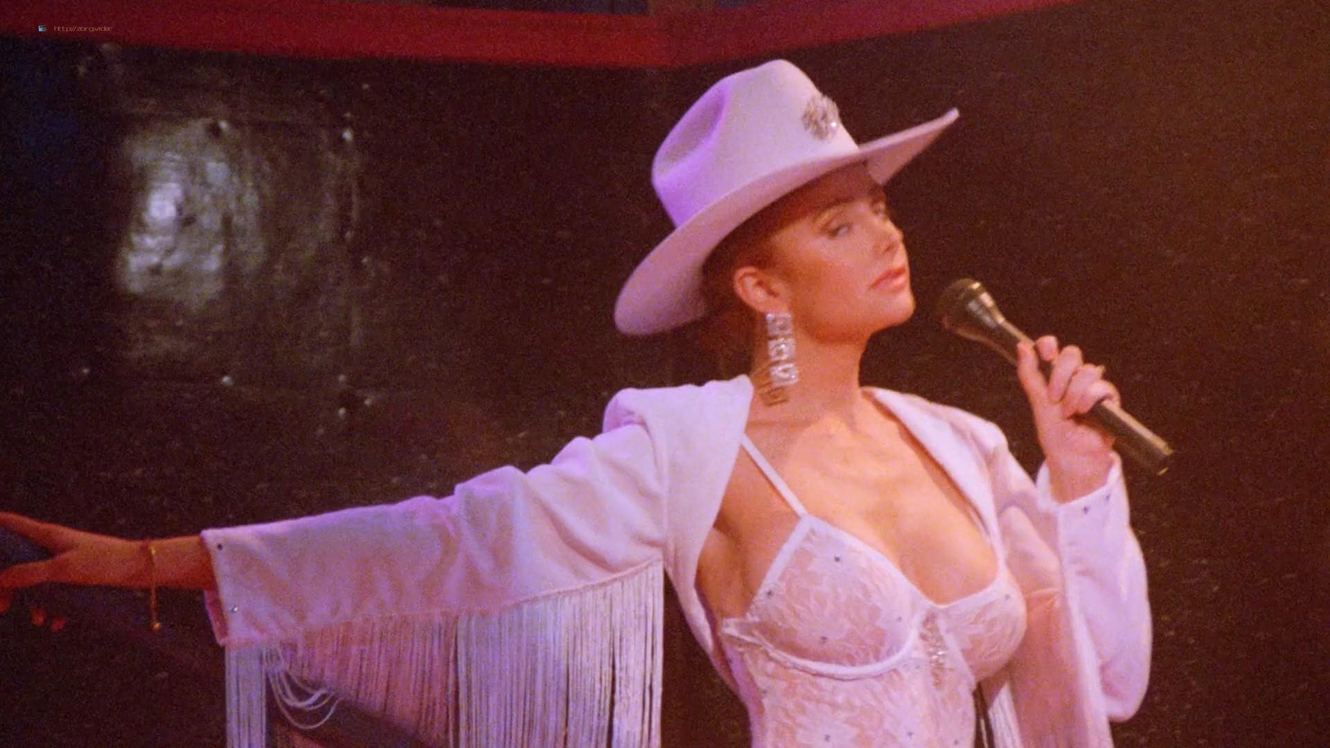Dona Speir nude Pandora Peaks, Carolyn Liu and others nude too - Do or Die (1991) 1080p BluRay (16)