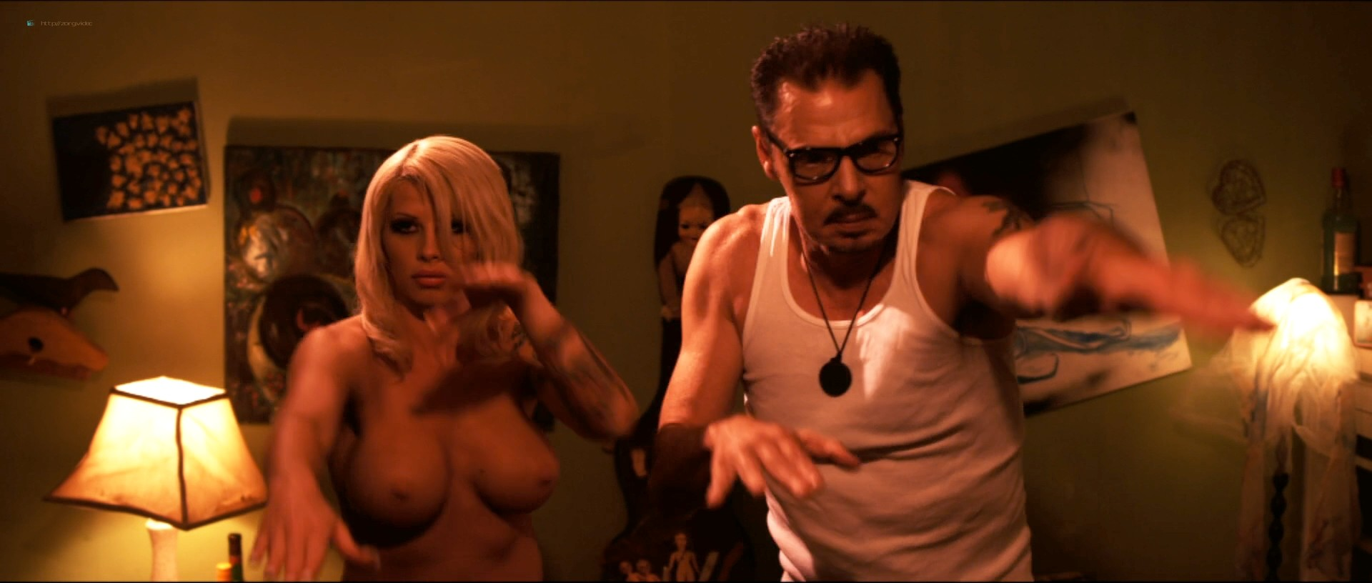 Kayden Kross nude and sex Nicole D'Angelo, Brooke Haven and others nude too - Blue Dream (2013) 1080p (15)