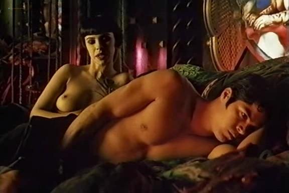 Mathilda May nude and some sex - Naked Tango (1990) VHSrip (10)