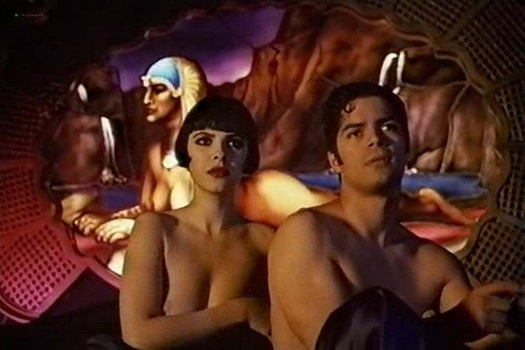 Mathilda May nude and some sex - Naked Tango (1990) VHSrip (9)