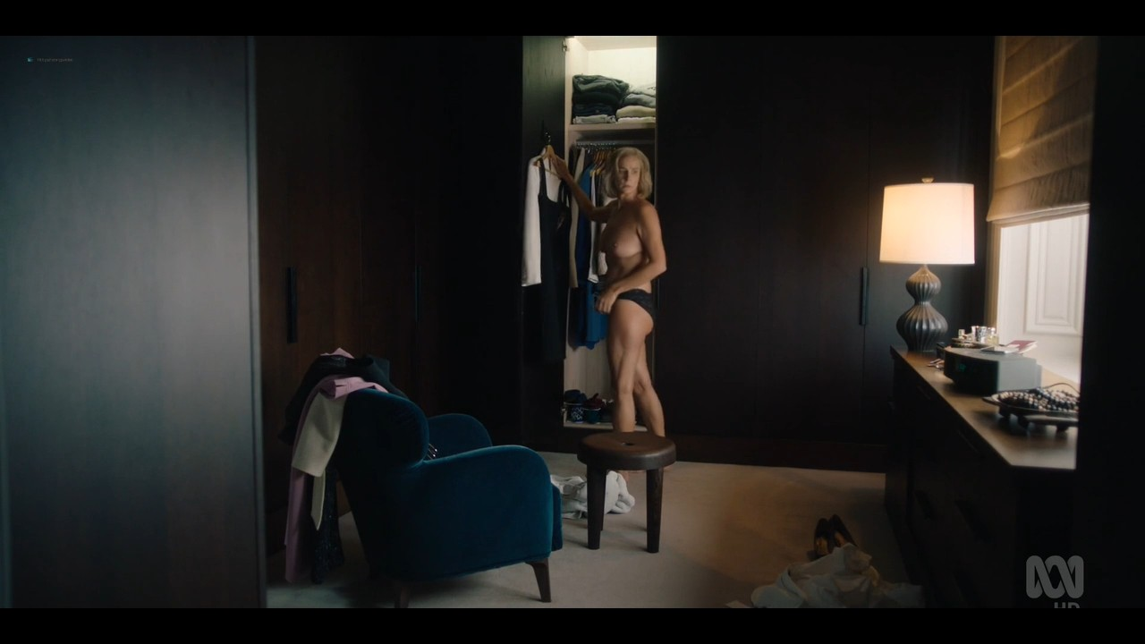 Rachel Griffiths nude bush and topless - Total Control (2019) s1e3 720p (6)