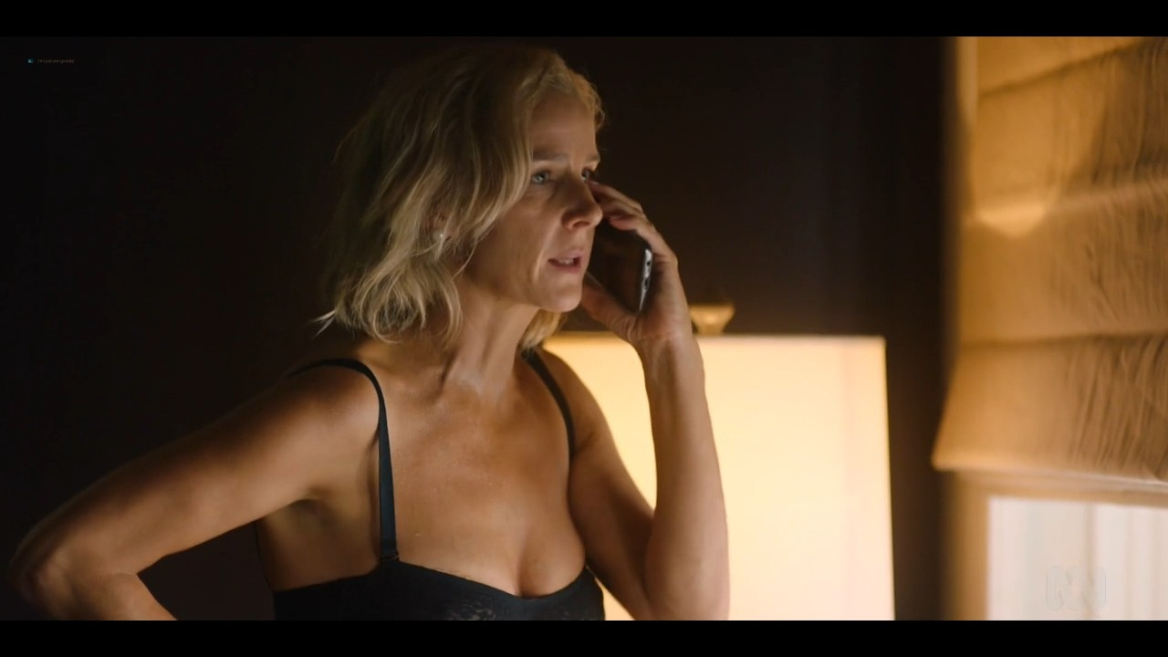 Rachel Griffiths nude bush and topless - Total Control (2019) s1e3 720p (2)