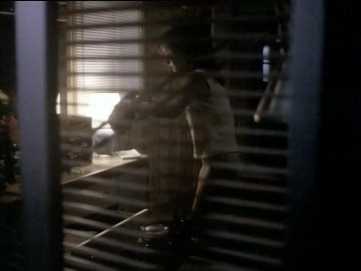 Courteney Cox nude nip slip and sex - Blue Desert (1991) (10)