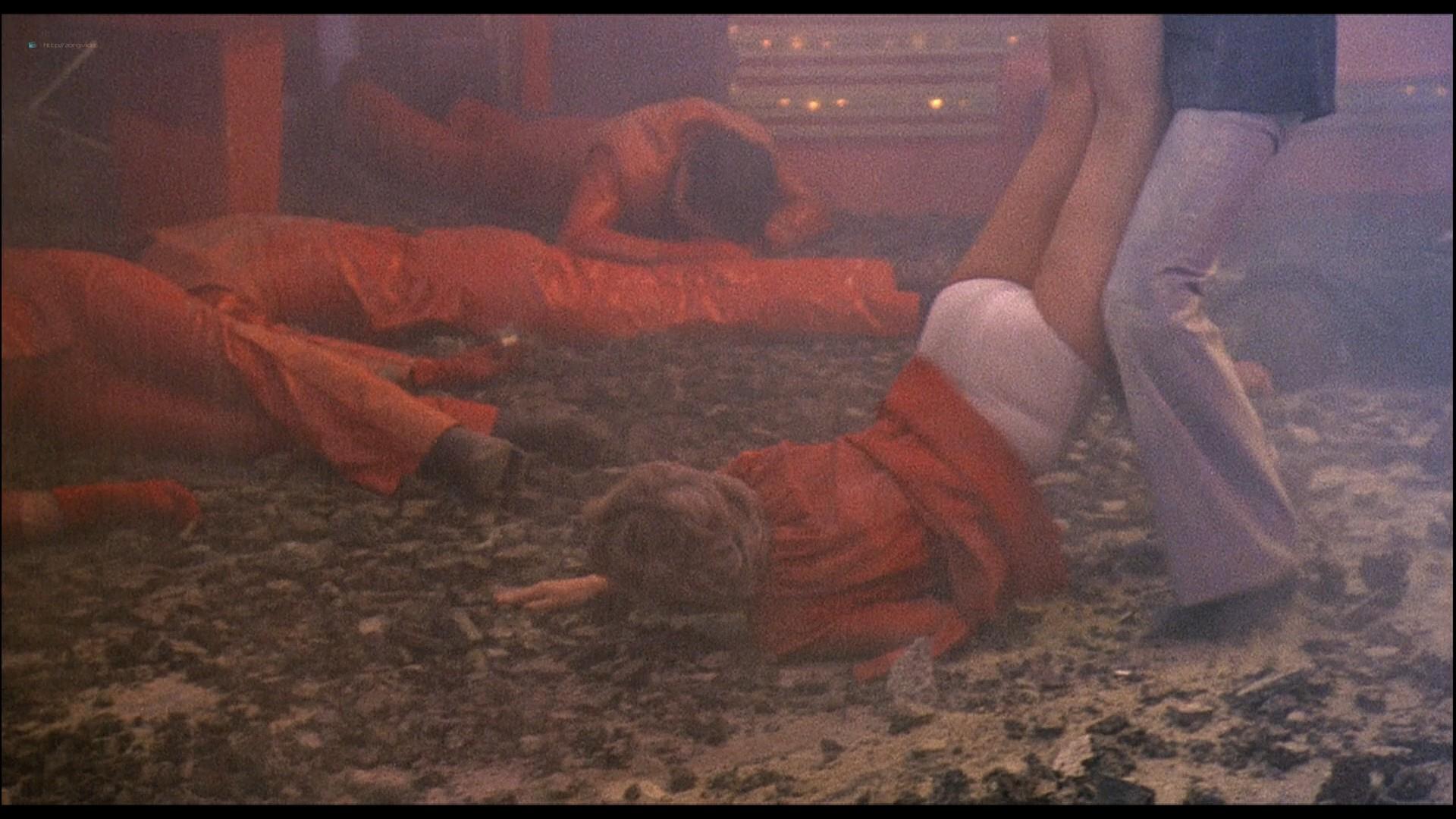 Cheré Bryson busty see through Andrea Howard, Pamela Hensley hot - The Nude Bomb (1980) HD 1080p BluRay (2)