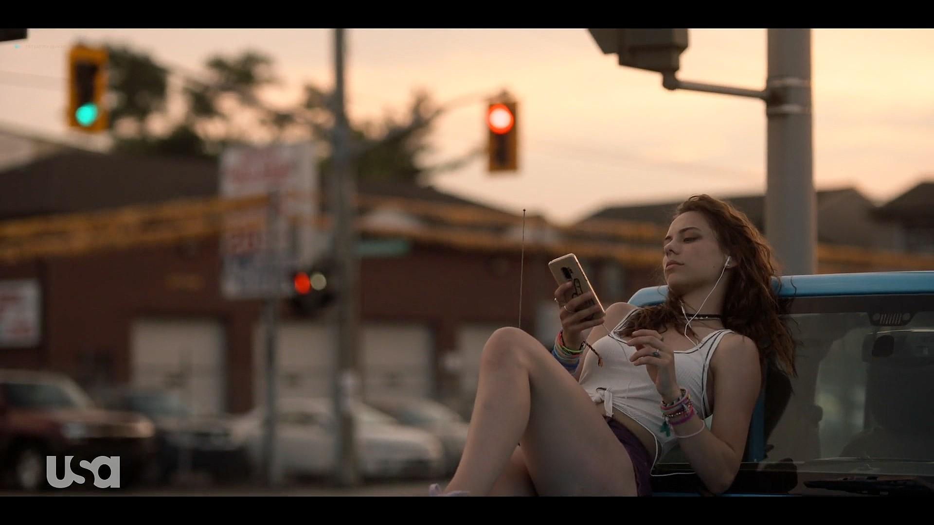 Fitzgerald hot some sex Marlo Kelly, Herizen F. Guardiola sexy - Dare Me (2019) s1e3 HD 1080p (5)