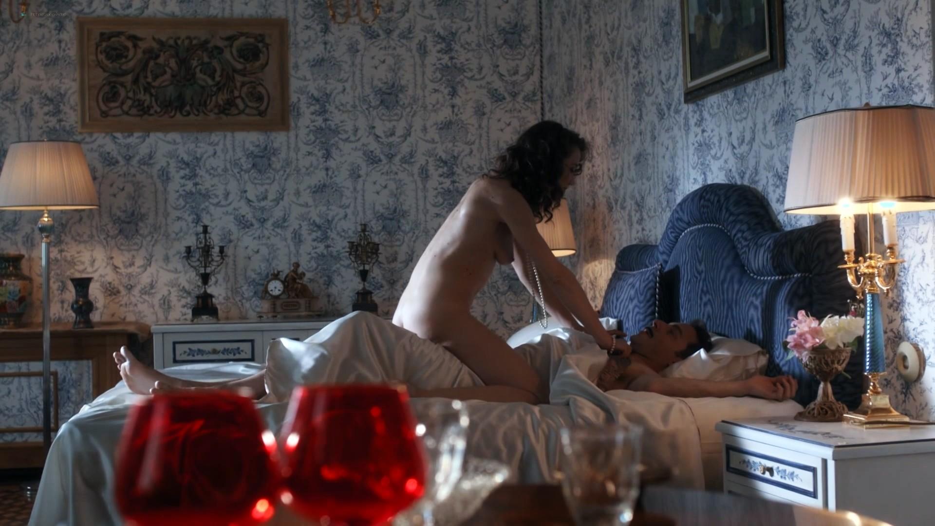 Jana Stojanovska nude sex Jovana Stojiljkovic and Marija Bergam sex - Black Sun (2017) s1e9-10 HD 1080p (3)