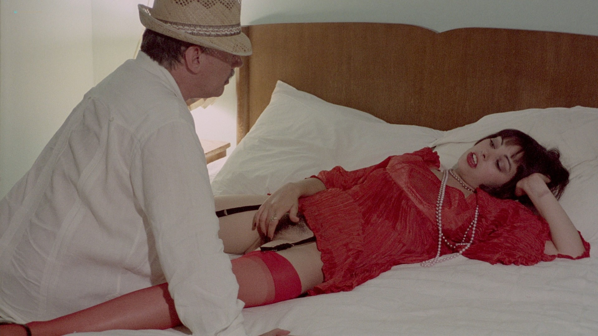 Lina Romay nude explicit Martine Stedil bush labia other nude - Downtown (1975) HD 1080p BluRay (r) (10)