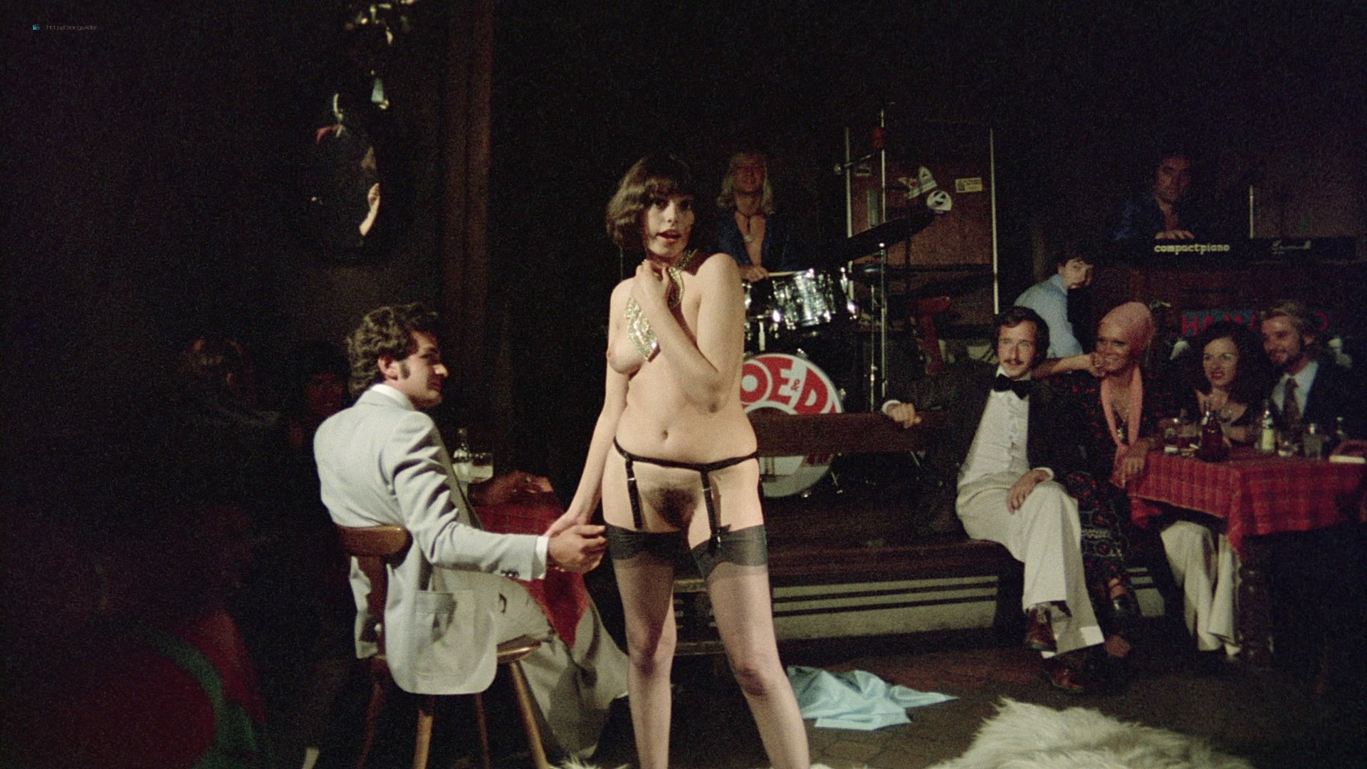 Lina Romay nude explicit Martine Stedil bush labia other nude - Downtown (1975) HD 1080p BluRay (r) (16)