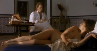 Maribel Verdu nude bush and butt in Goya en Burdeos (1999) (6)
