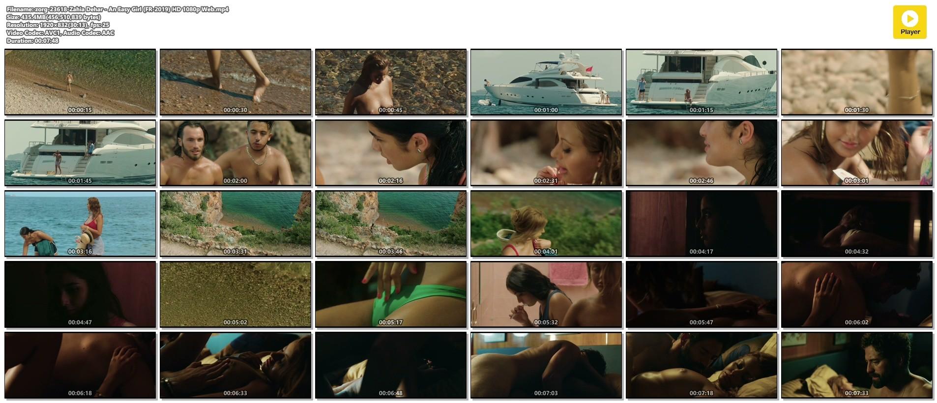 Zahia Dehar nude hot sex - An Easy Girl (FR-2019) HD 1080p Web (1)