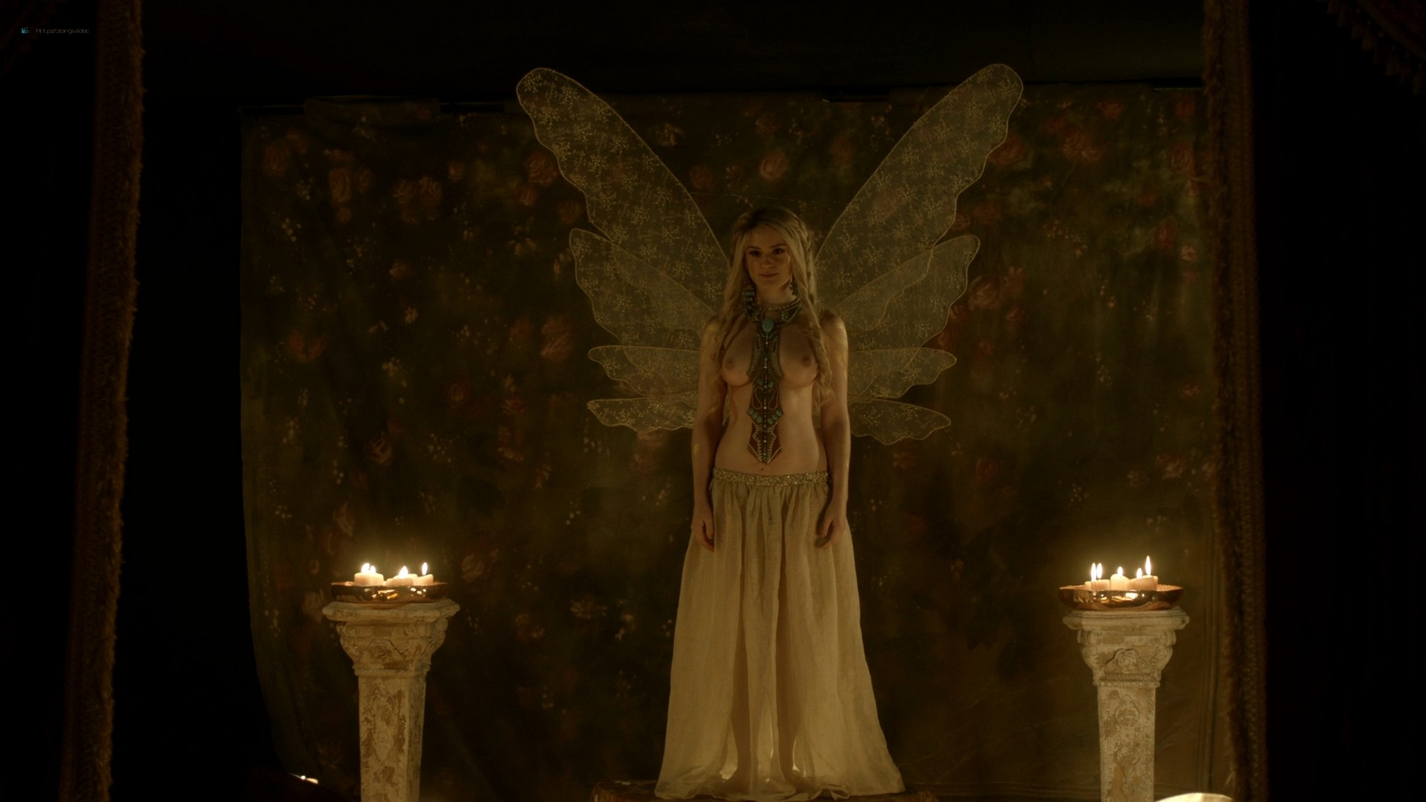 Alicia Agneson nude topless - Vikings (2020) s6e10 HD 1080p (8)
