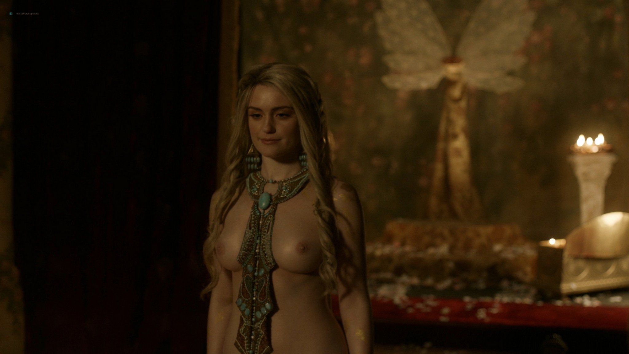 Alicia Agneson nude topless - Vikings (2020) s6e10 HD 1080p (5)