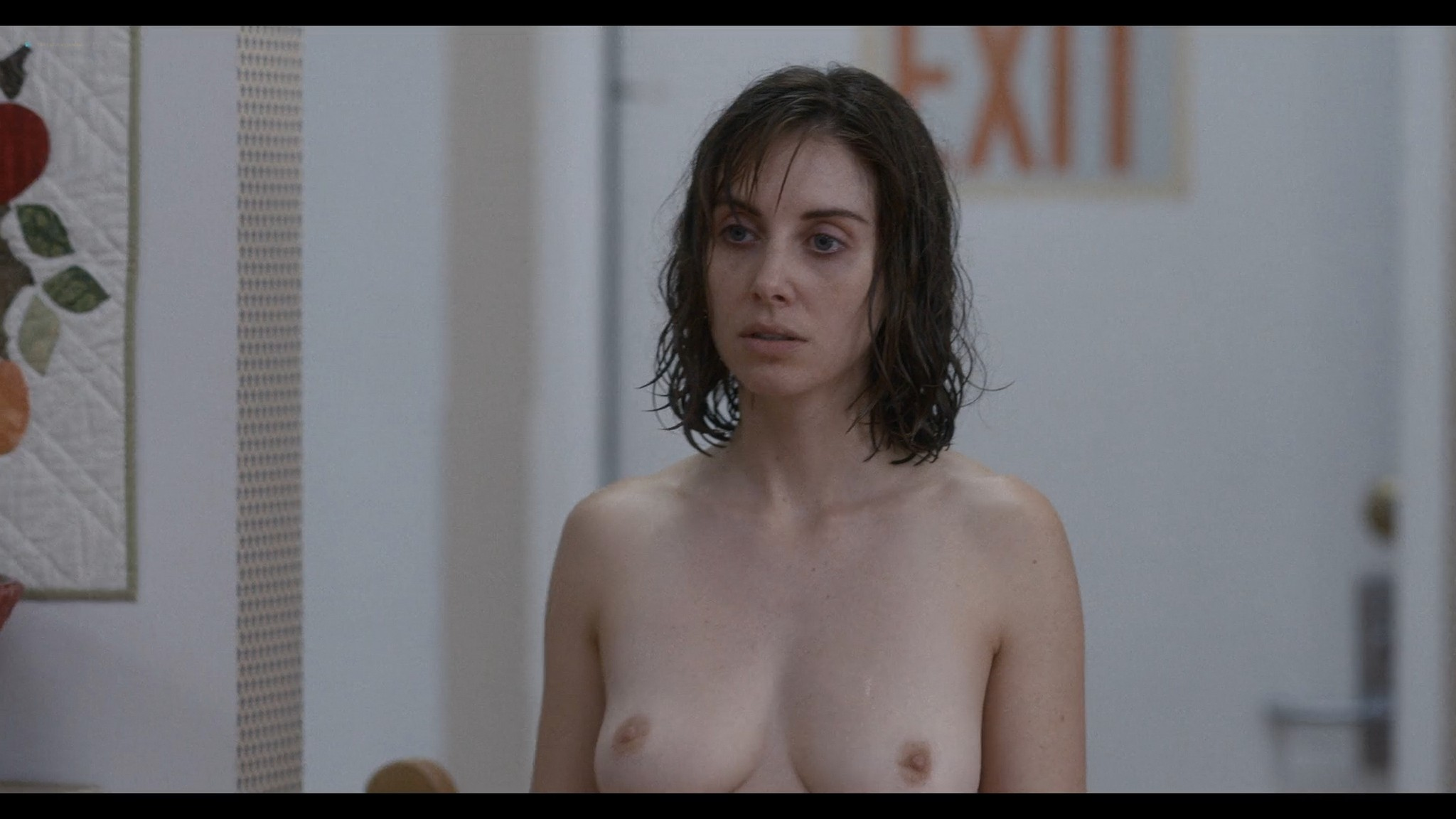 Alison Brie nude full frontal - Horse Girl (2020) HD 1080p Web (9)