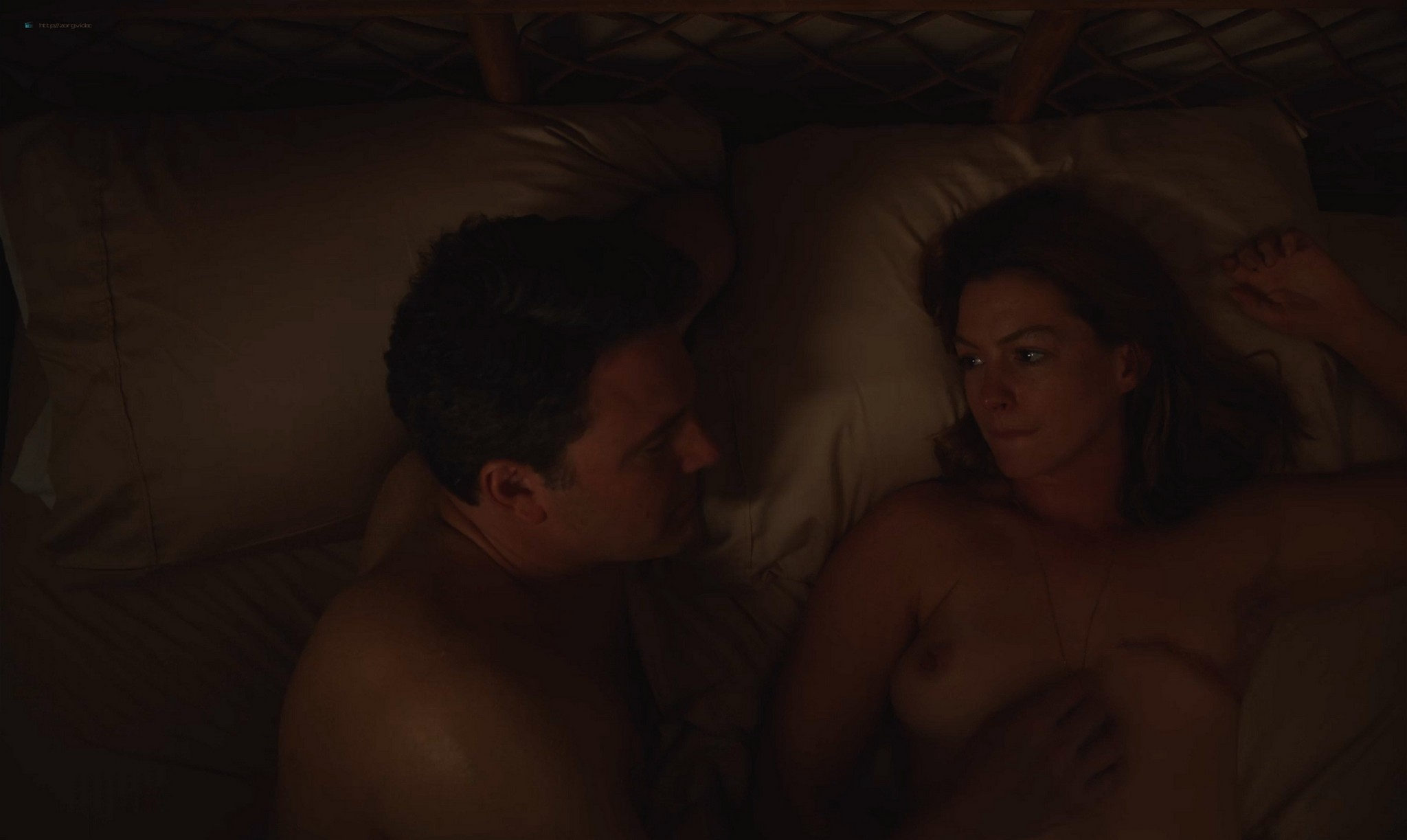 Anne Hathaway nude topless - The Last Thing He Wanted (2020) HD 1080p Web (8)