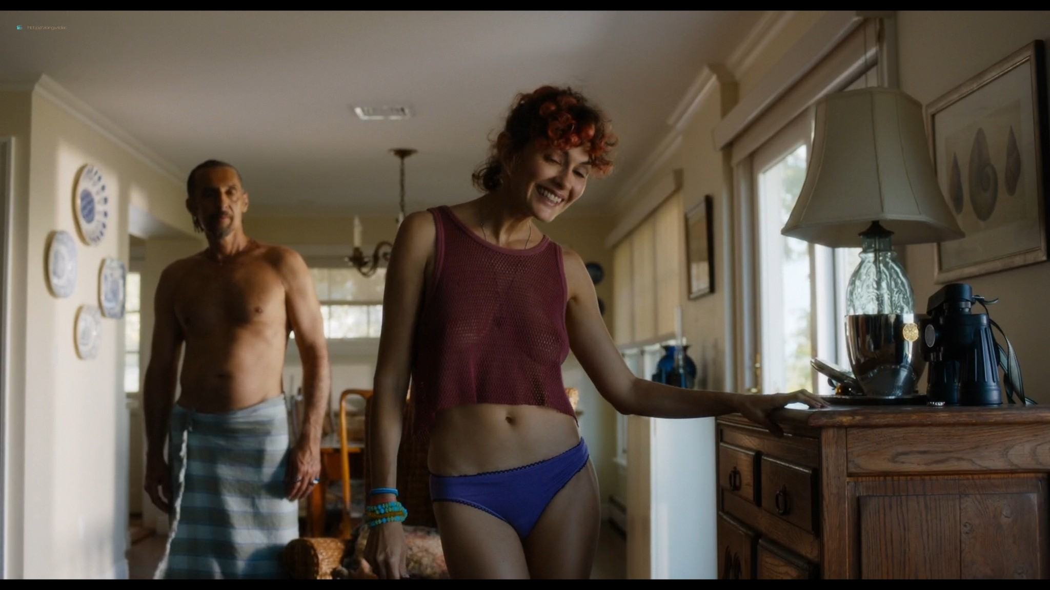 Audrey Tautou nude sex Susan Sarandon threesome - The Jesus Rolls (2019) HD 1080p Web (12)