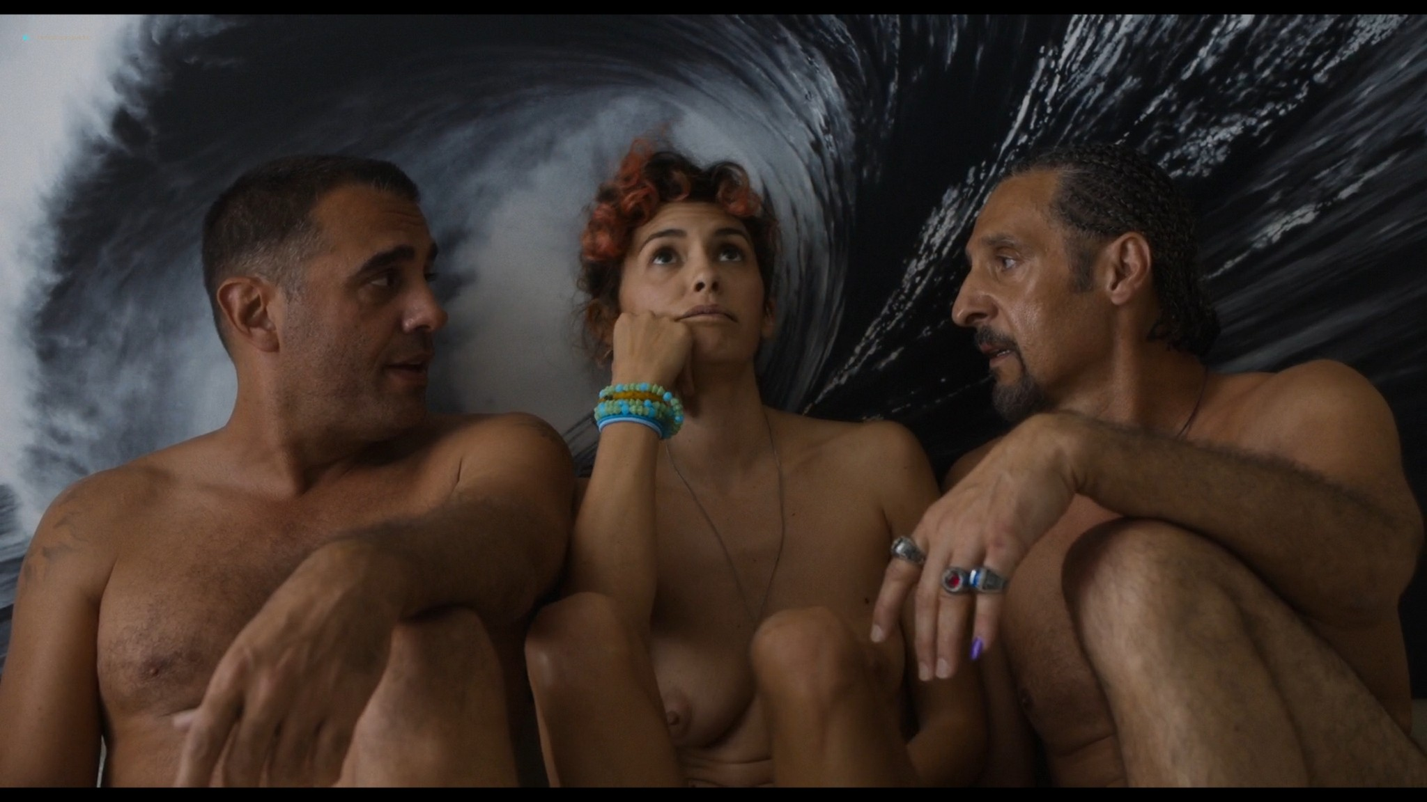 Audrey Tautou nude sex Susan Sarandon threesome - The Jesus Rolls (2019) HD 1080p Web (9)