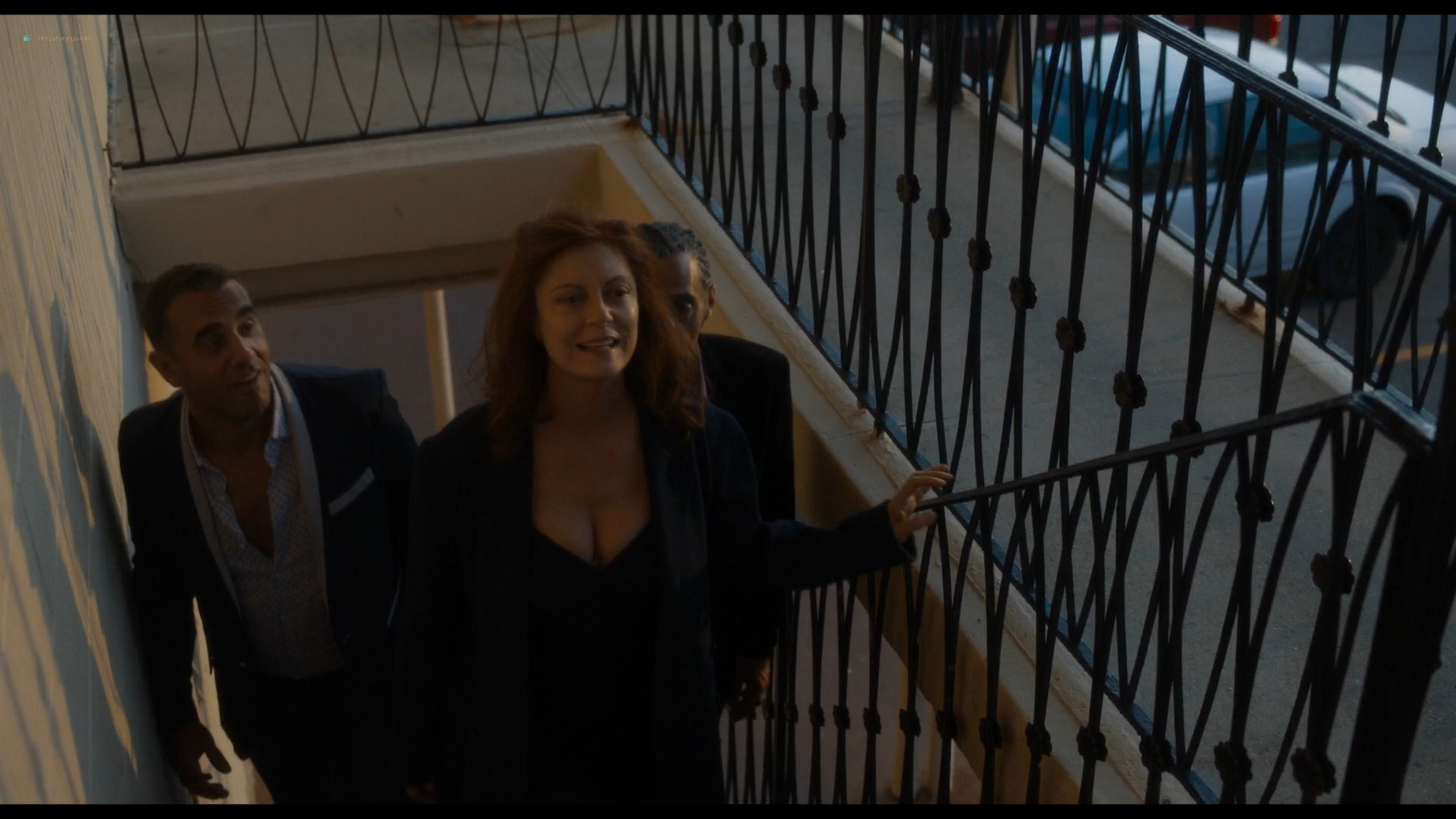 Audrey Tautou nude sex Susan Sarandon threesome - The Jesus Rolls (2019) HD 1080p Web (5)