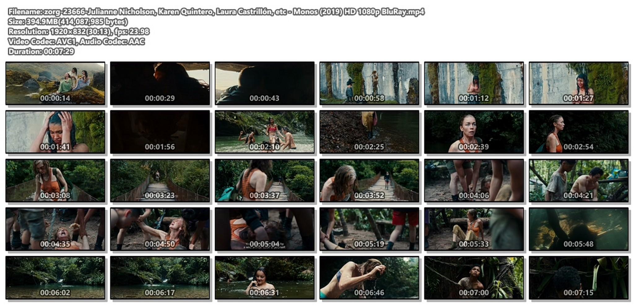 Julianne Nicholson pokies Karen Quintero, Laura Castrillón sexy - Monos (2019) HD 1080p BluRay (1)