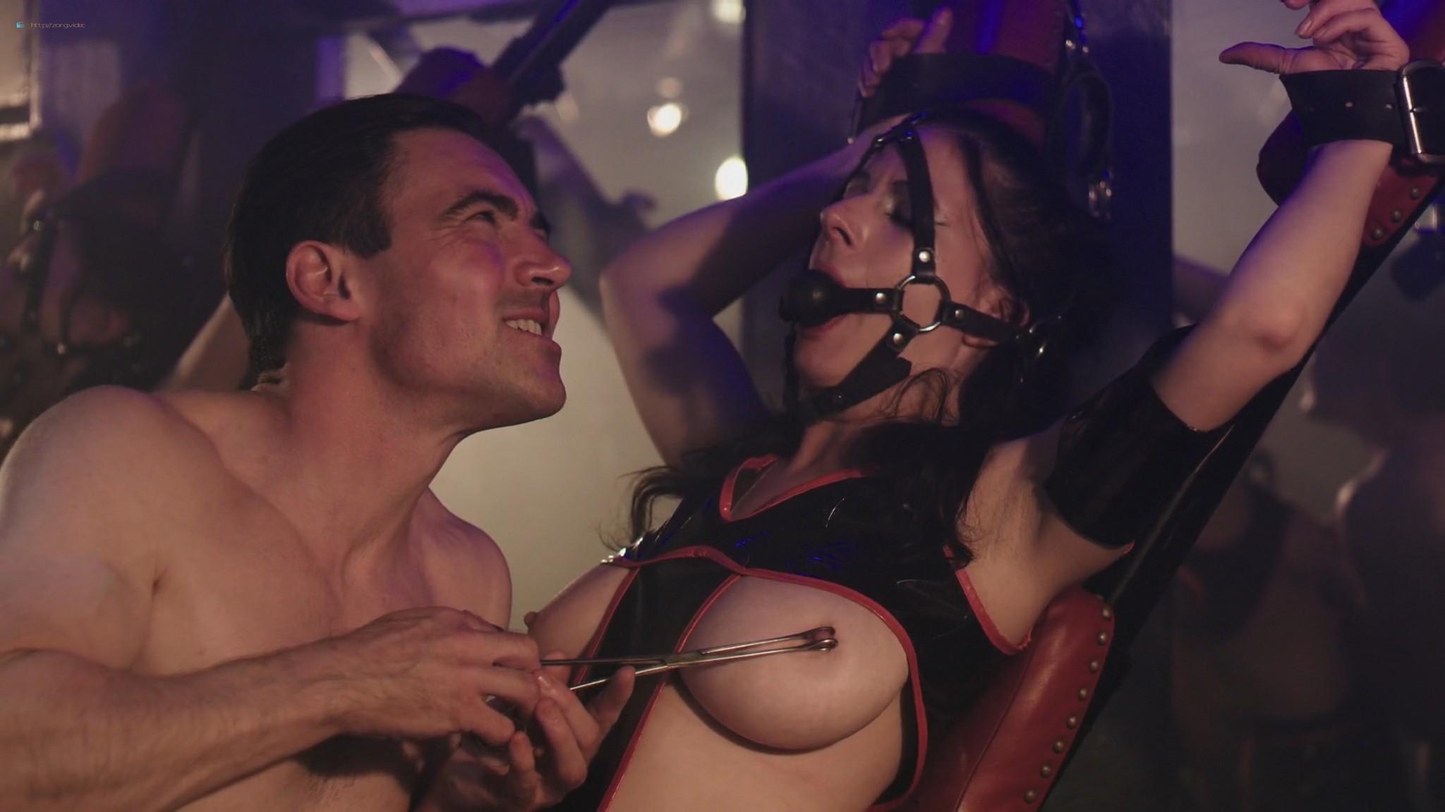 Keely Cat Wells nude Claudine-Helene Aumord full-frontal - Dirty Work (2018) HD 1080p Web (5)