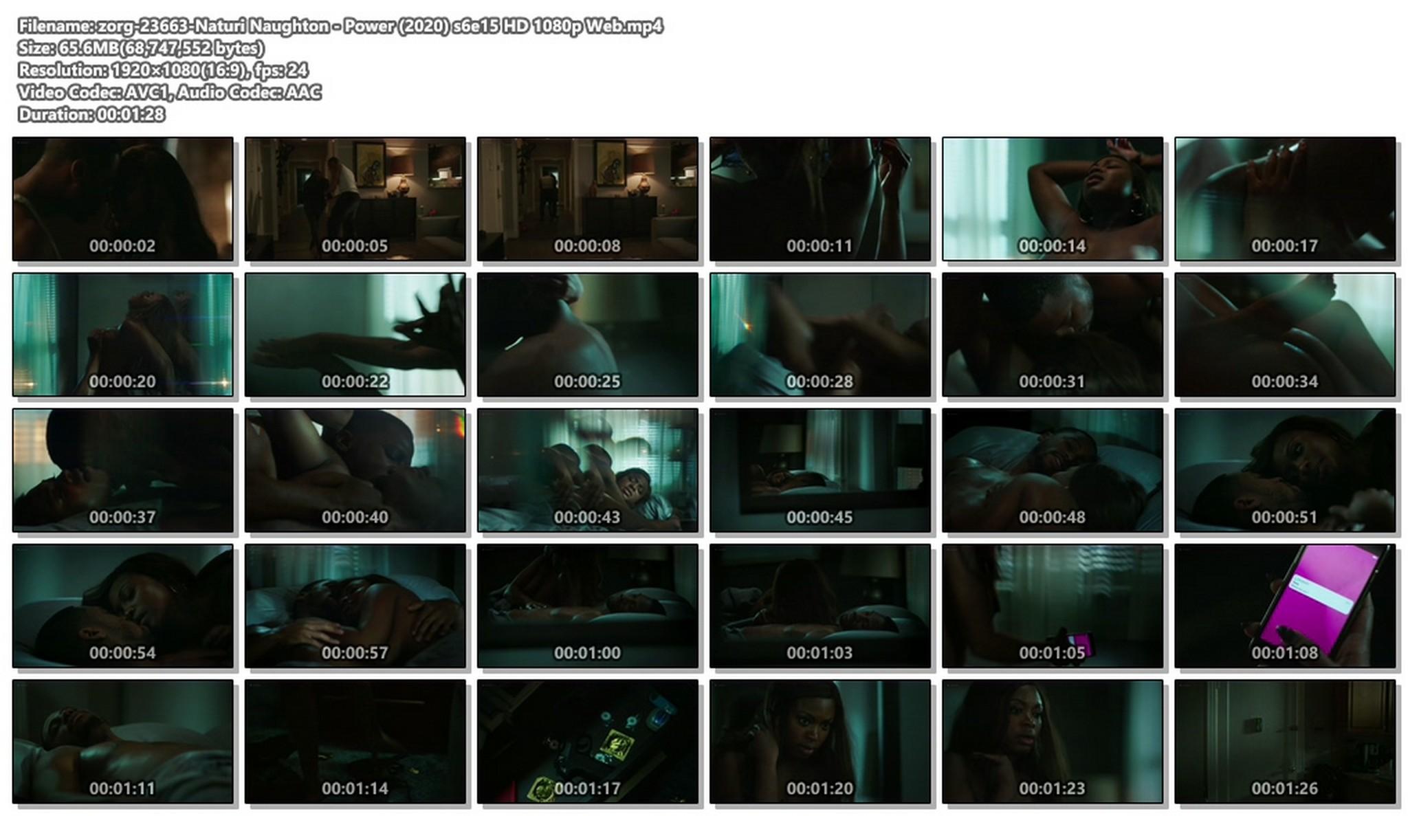 Naturi Naughton nude topless and sex - Power (2020) HD 1080p Web (1)