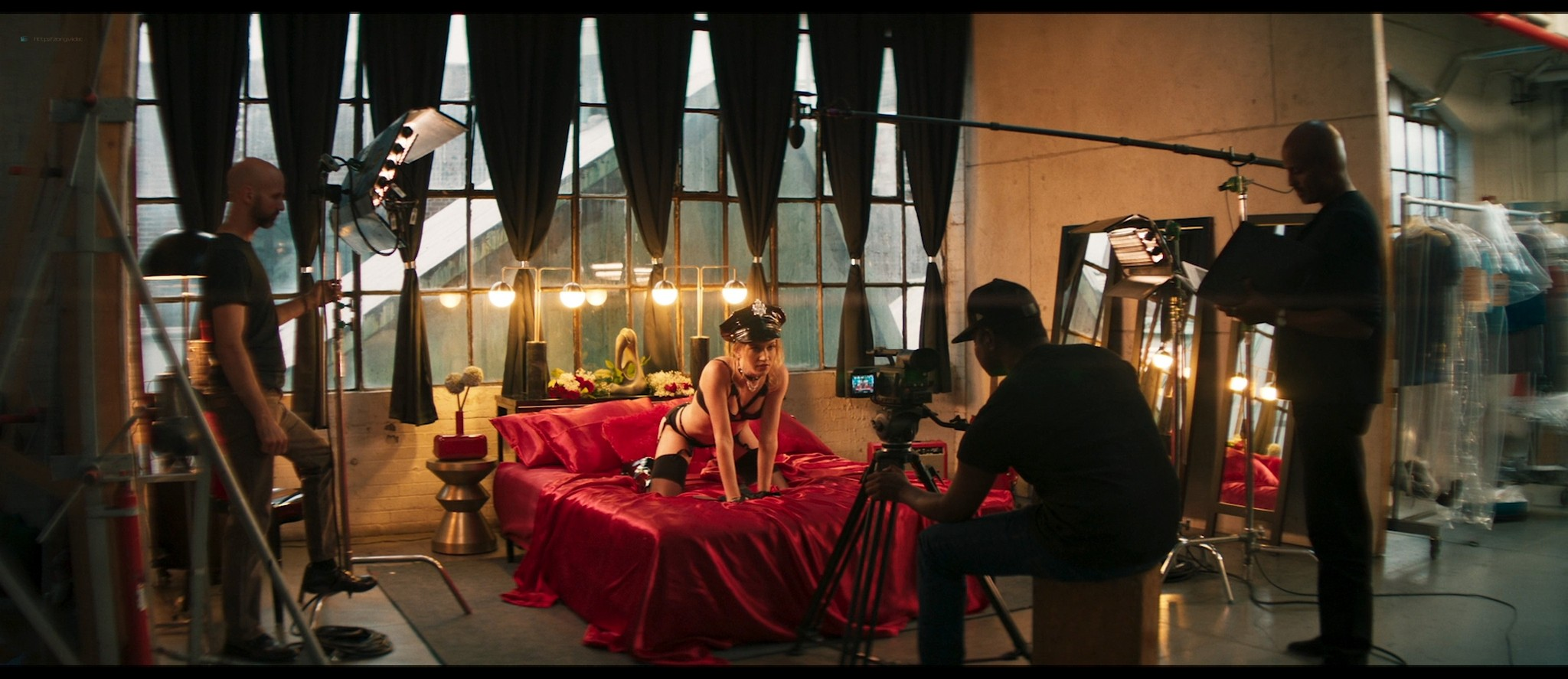 Ellen Toland nude topless Katie Claire McGrath sex doggy style - Inside the Rain (2019) HD 1080p Web (8)