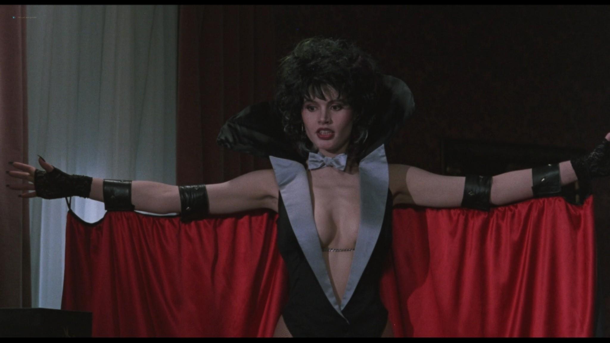 Geena Davis hot and sexy Ksenia Prohaska sexy - Transylvania 6-5000 (1985) HD 1080p BluRay (18)