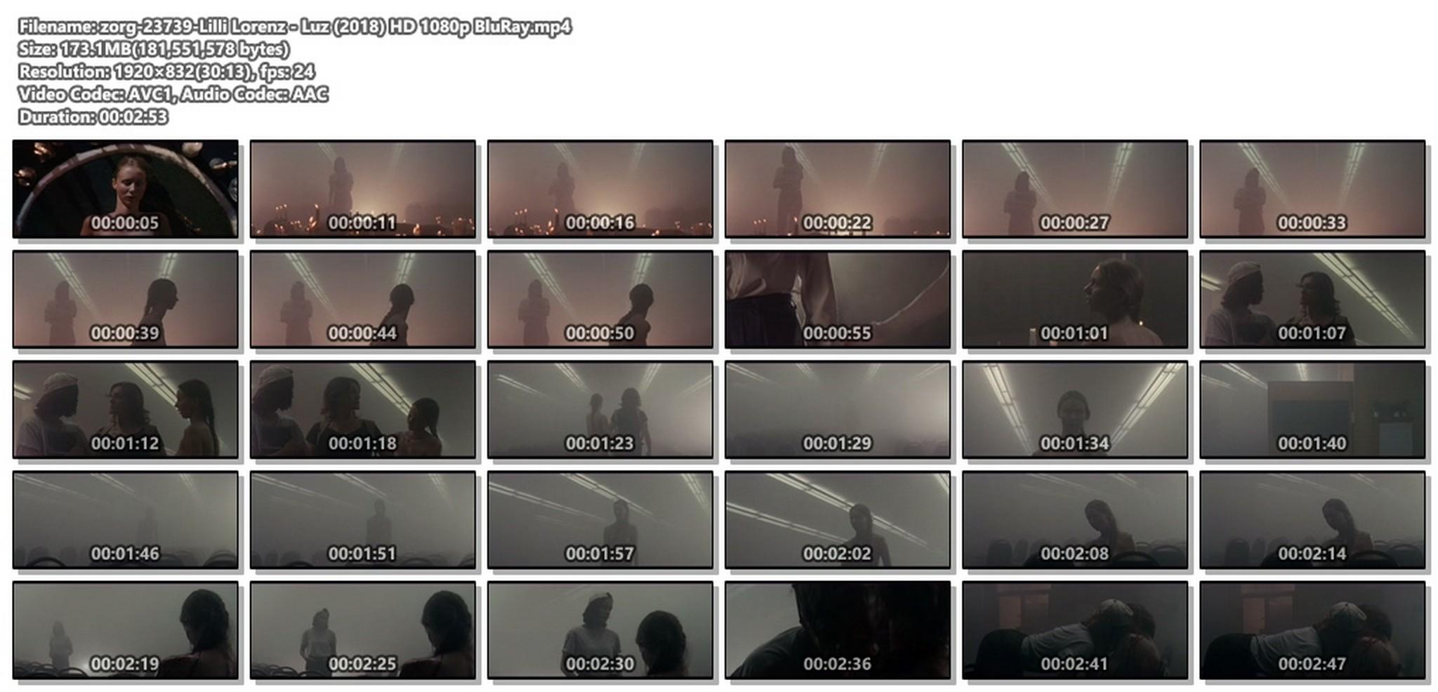 Lilli Lorenz nude full frontal - Luz (2018) HD 1080p BluRay (1)