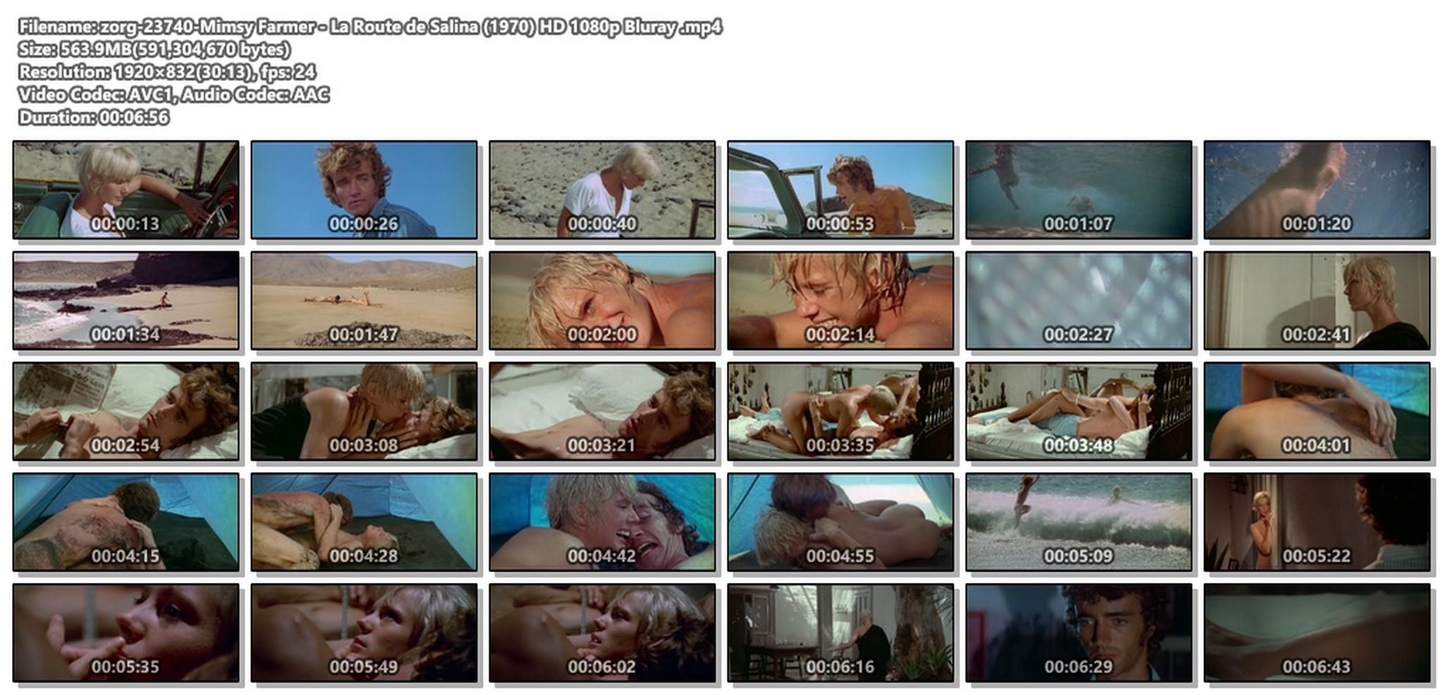 Mimsy Farmer nude full frontal - La Route de Salina (1970) HD 1080p Bluray (1)