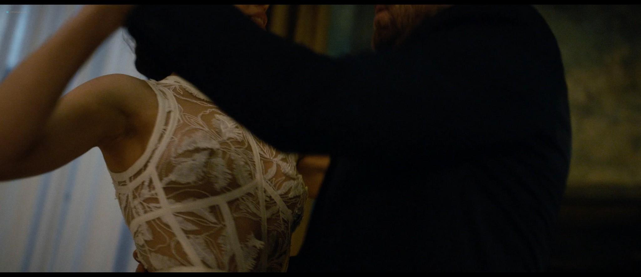 Olga Kurylenko hot and sexy in The Room (2019) HD 1080p BluRay (15)