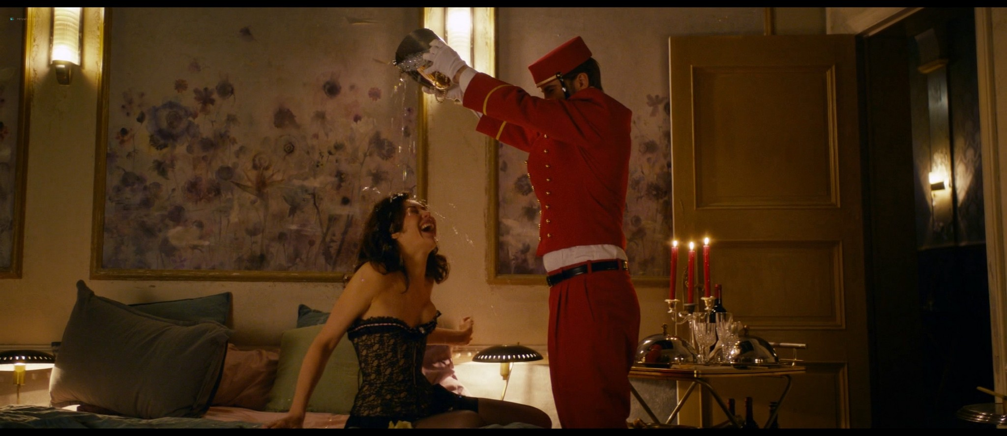 Olga Kurylenko hot and sexy in The Room (2019) HD 1080p BluRay (11)