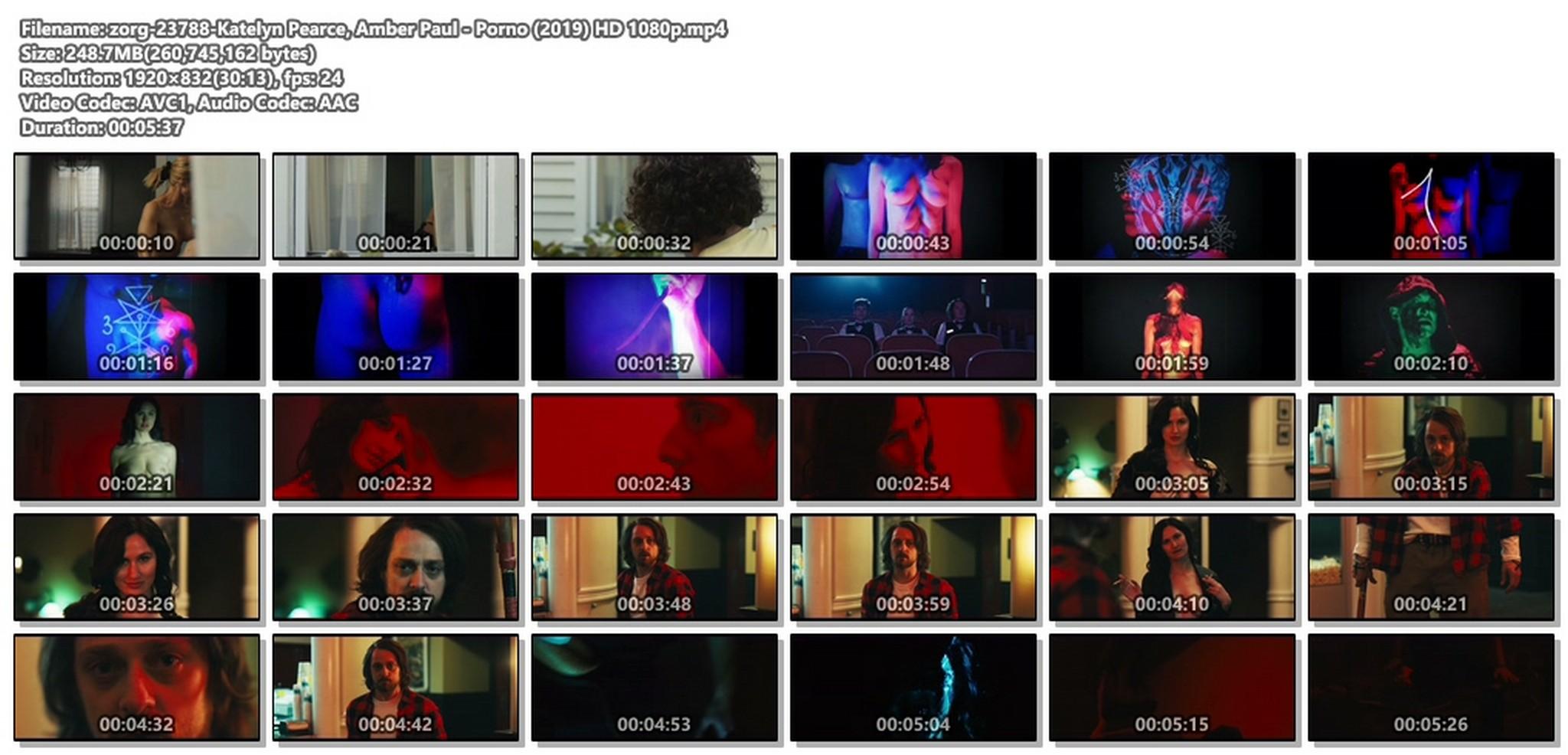 Katelyn Pearce nude full frontal Amber Paul nude sex - Porno (2019) HD 1080p (1)
