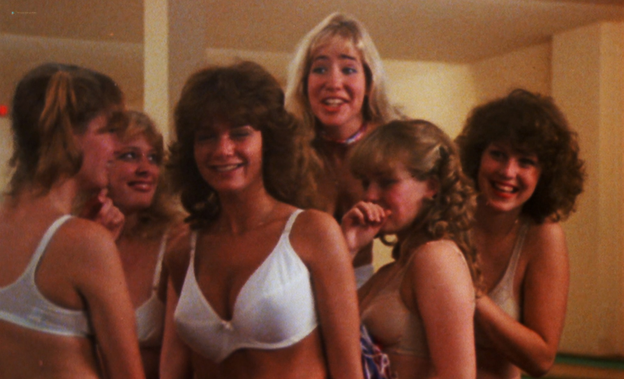 Linda Shayne nude Jennifer Inch, Astrid Brandt and other nude too - Screwballs (1983) HD 1080p BluRay (6)