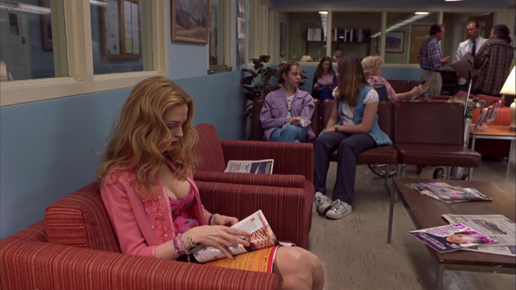 Heather Graham sexy Courtney Peldon funny - Say It Isn't So (2001) HD 1080p Web (8)