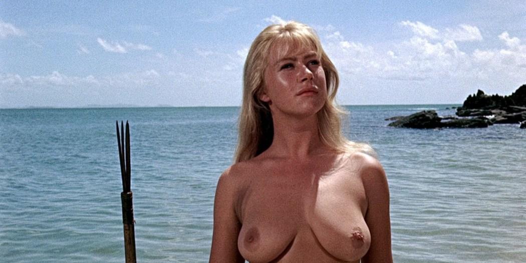 Helen Mirren nude skinny dipping Clarissa Kaye-Mason nude sex - Age of Consent (1969) HD 1080p BluRay Remux (5)