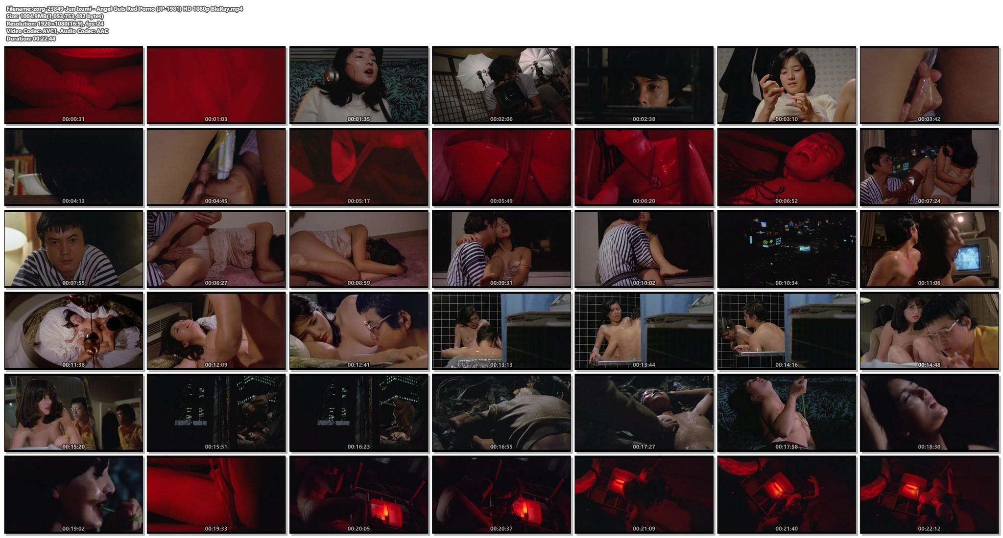 Jun Izumi nude hot sex - Angel Guts: Red Porno (JP-1981) HD 1080p BluRay (1)