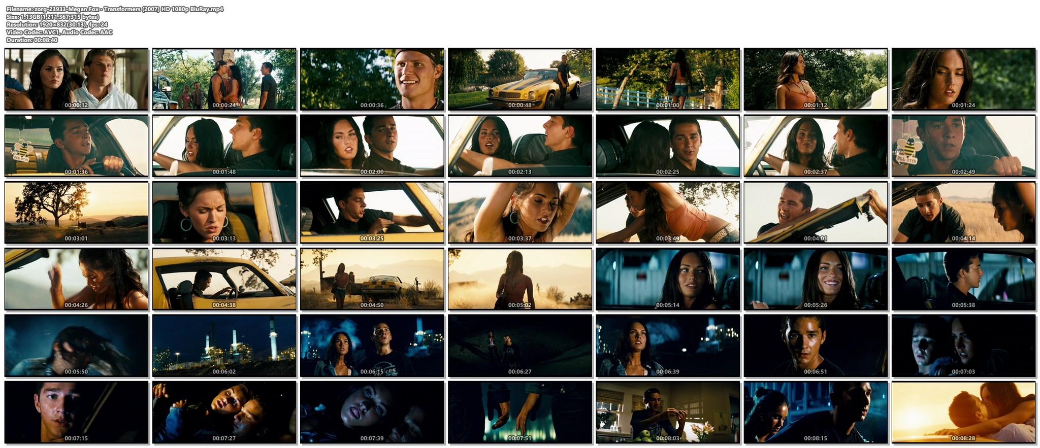 Megan Fox hot and sexy - Transformers (2007) HD 1080p BluRay Remux (1)