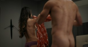 Melissa Barrera nude side bob and blow job - Vida (2020) s3e6 HD 1080p Web (6)