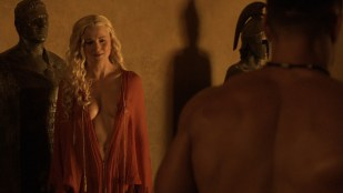 Lucy Lawless hot sex oral Lesley-Ann Brandt and others sexy  - Spartacus - The Thing in the Pit (2010) s1e4-5 HD 1080p