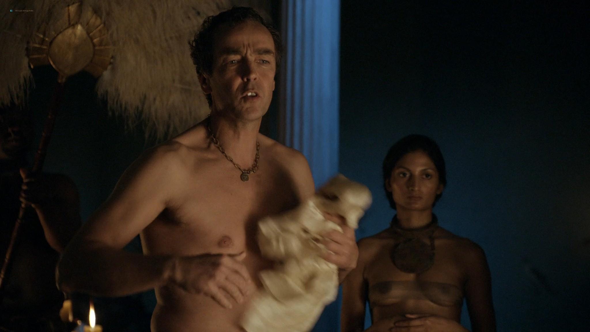 Lucy Lawless nude sex Erin Cummings, Aria Dickson nude too - Spartacus - Sacramentum Gladiatorum (2010) s1e2 HD 1080p (6)