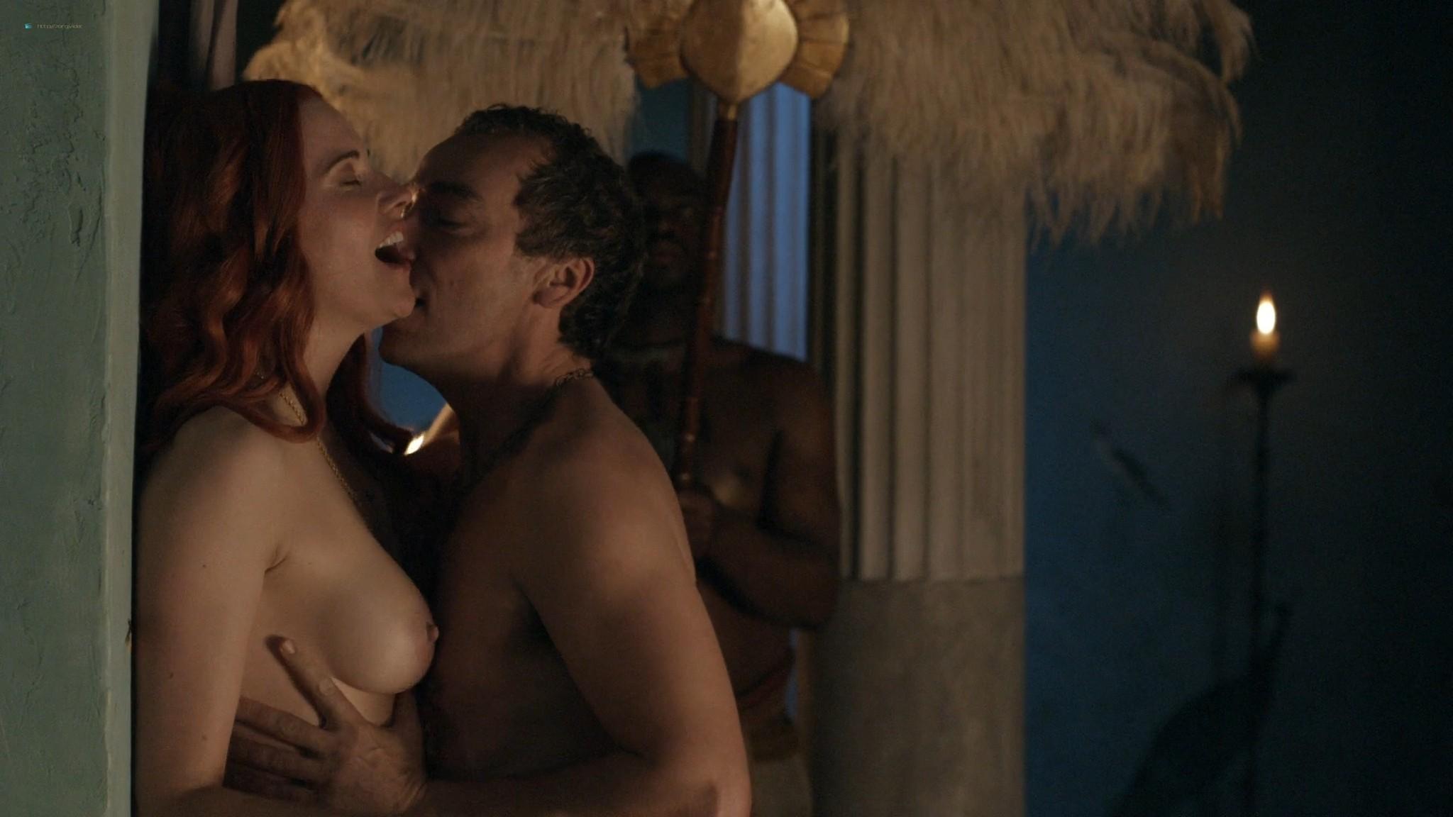Lucy Lawless nude sex Erin Cummings, Aria Dickson nude too - Spartacus - Sacramentum Gladiatorum (2010) s1e2 HD 1080p (3)