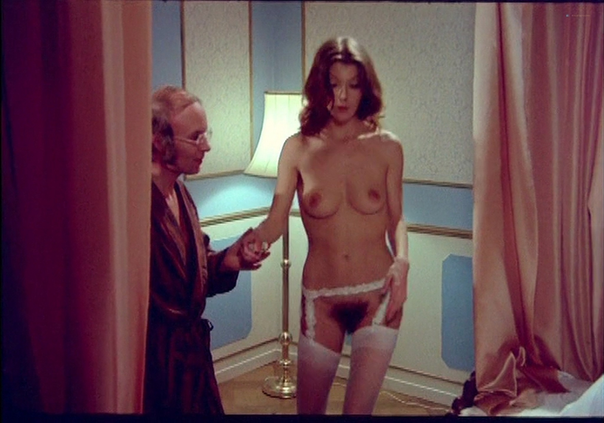 Marie Forså nude full frontal explicit Anne Bie Warburg and others nude sex - Justine and Juliette (DK-1975) (14)