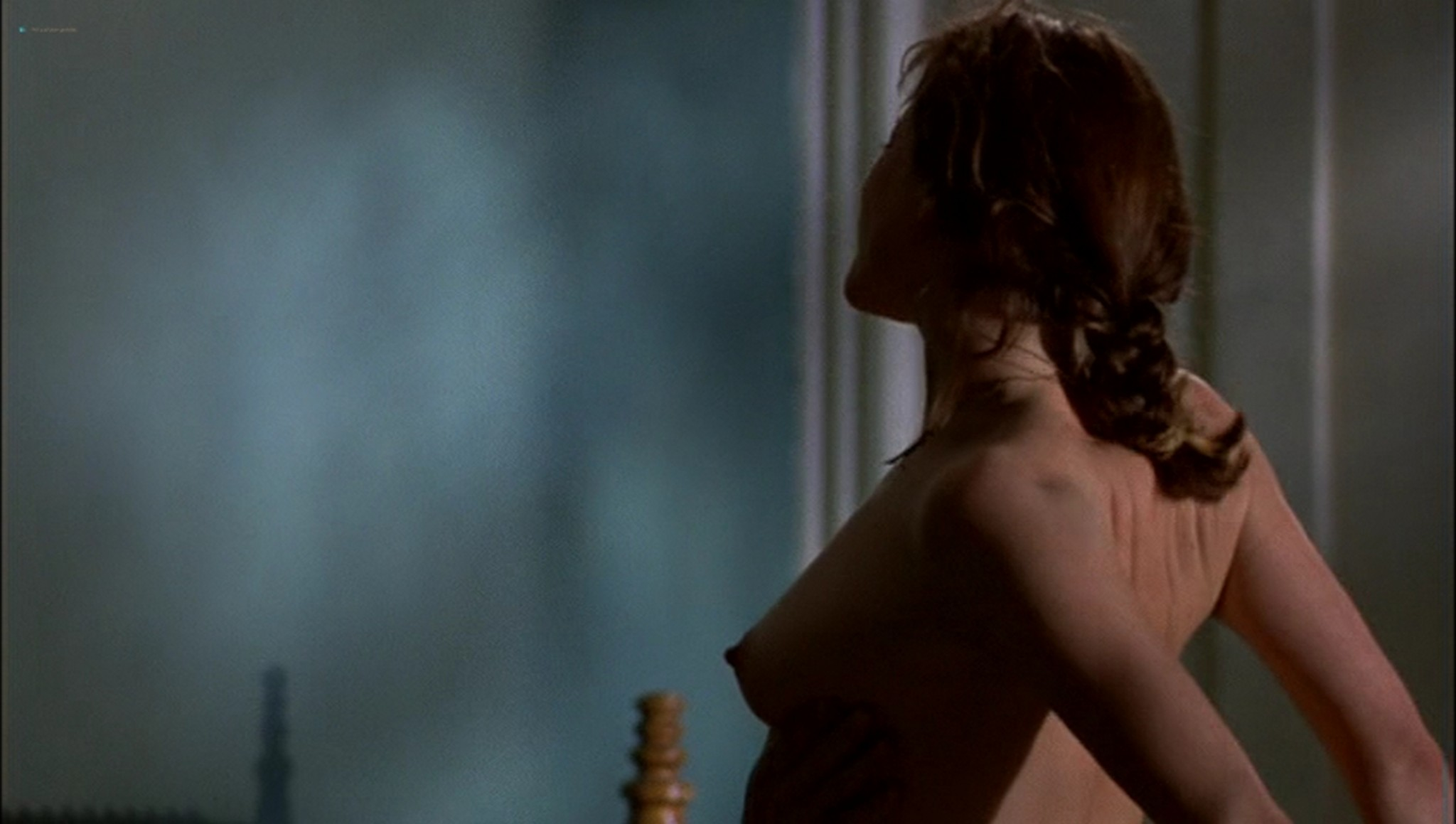 Pascale Bussières nude lesbian sex with Rachael Crawford - When Night Is Falling (1995) (16)