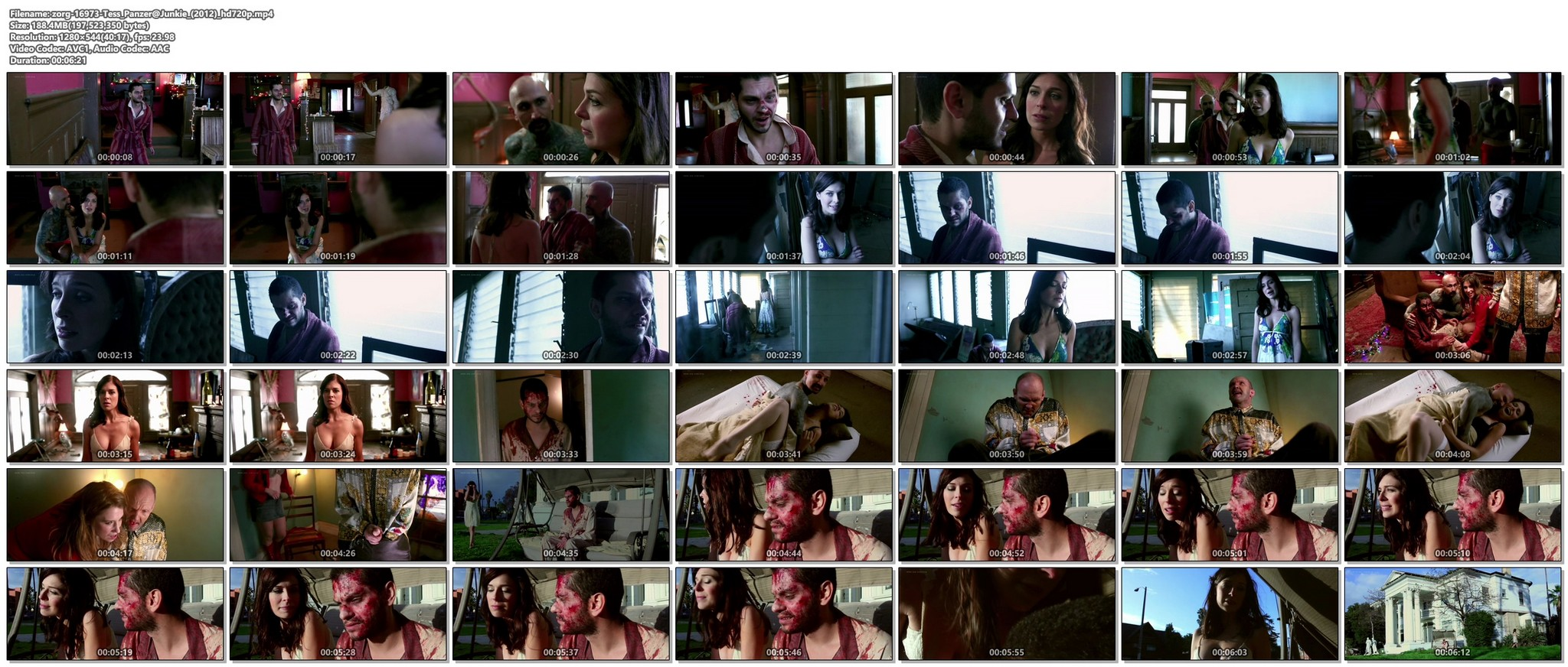 Tess Panzer hot and some sex - Junkie (2012) HD 720p Web (1)