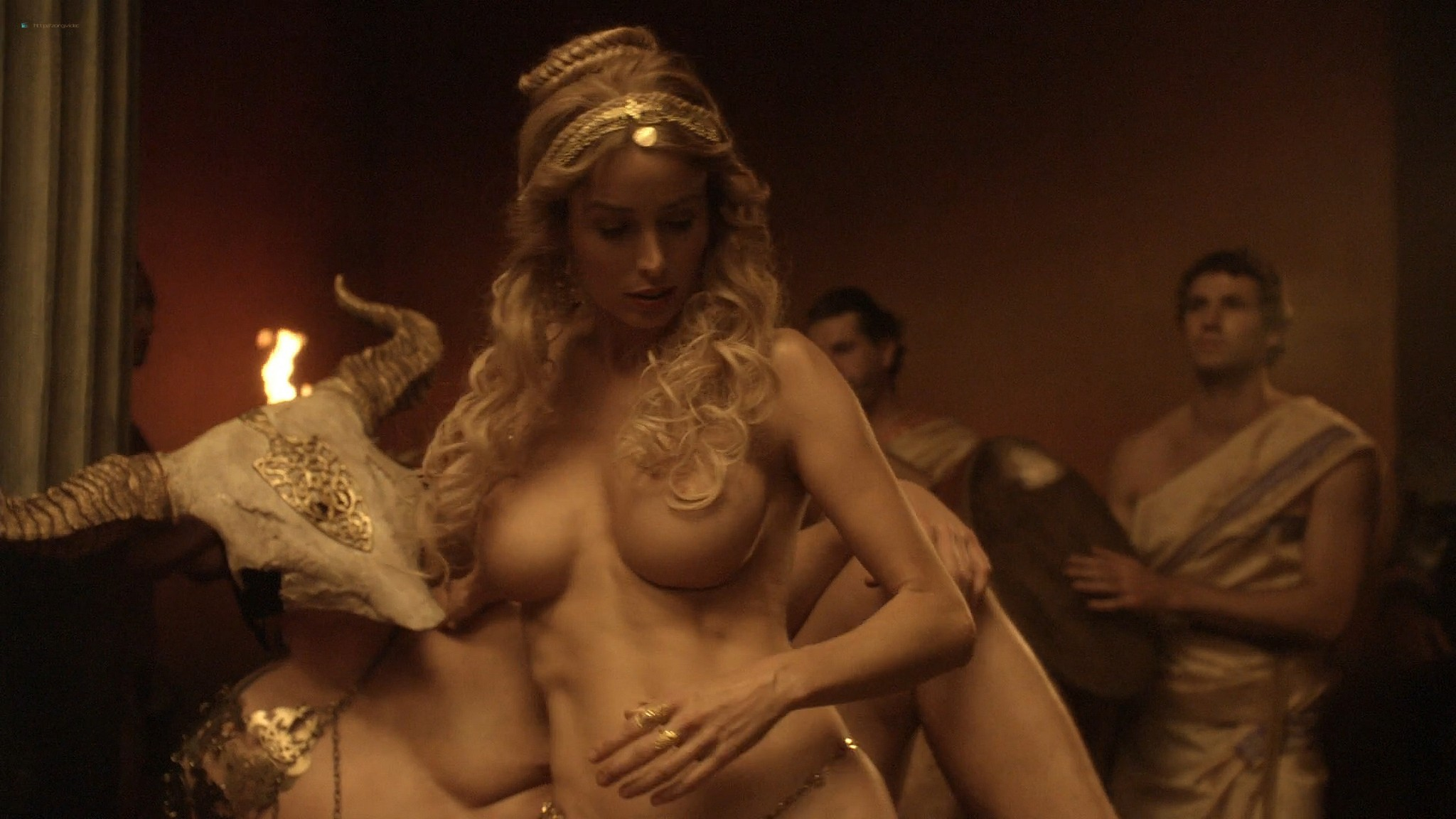 Viva Bianca nude full frontal Erin Cummings and others nude - Spartacus -The Red Serpent (2010) HD 1080p BluRay (5)