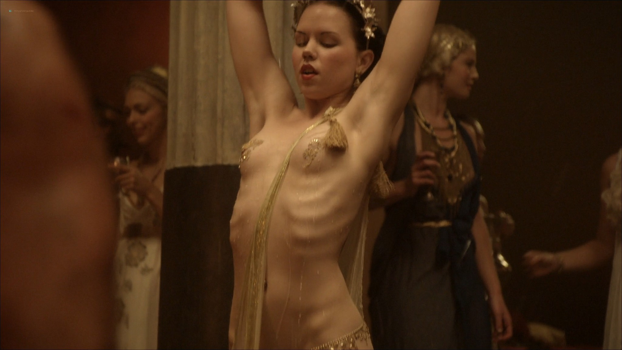 Viva Bianca nude full frontal Erin Cummings and others nude - Spartacus -The Red Serpent (2010) HD 1080p BluRay (4)