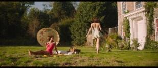 Gemma Arterton hot leggy and Gugu Mbatha-Raw sexy - Summerland (2020) HD 1080p Web